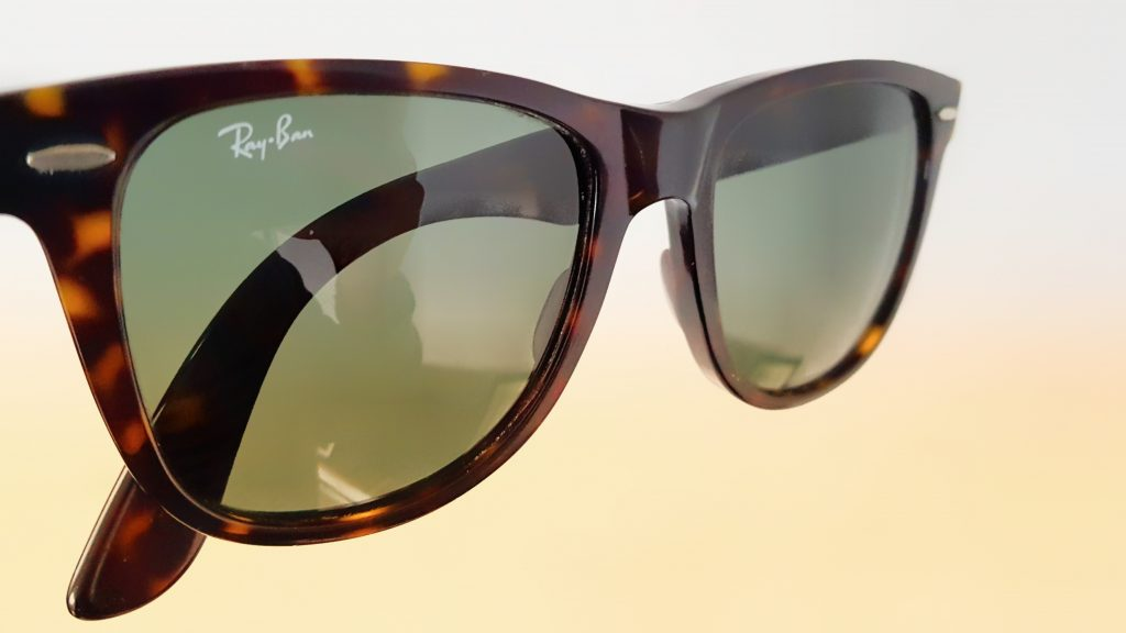 Ray-Ban Wayfarer Review Angle